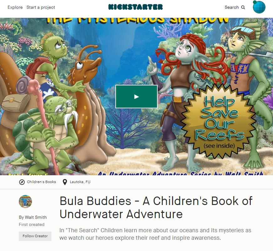 Bula Buddies: The Search - see more on Kickstarter now.