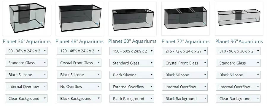 Planet Aquariums and DFW Aquarium Supply launch the MEGA Matrix aquariums line, aiming to bring quality configured tanks to the market without the custom price tag.