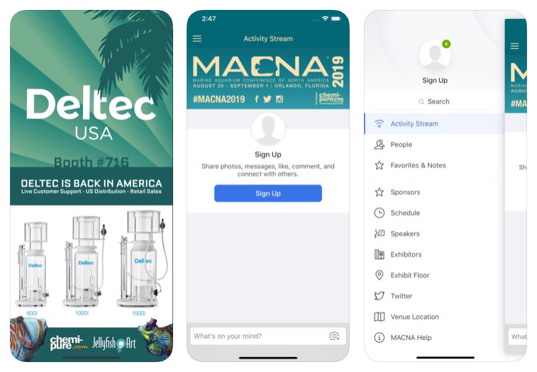 Group chats, event floor plans and schedules, exhibitor and sponsor info, and more, all at your fingertips with the 2019 MACNA App.