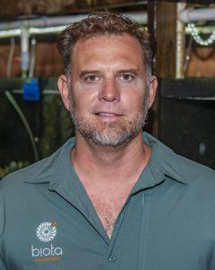 Biota Marine Life Nursery founder Tom Bowling.