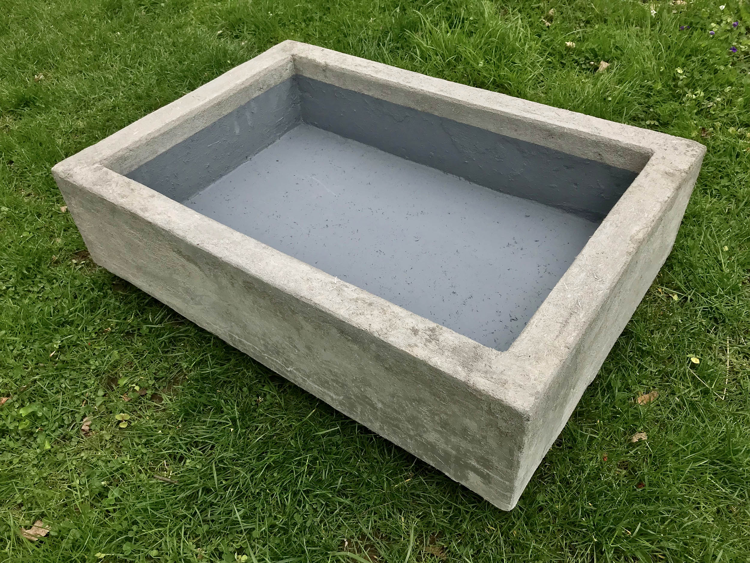 Build A Lightweight Waterproof Concrete Basin For Ponds And