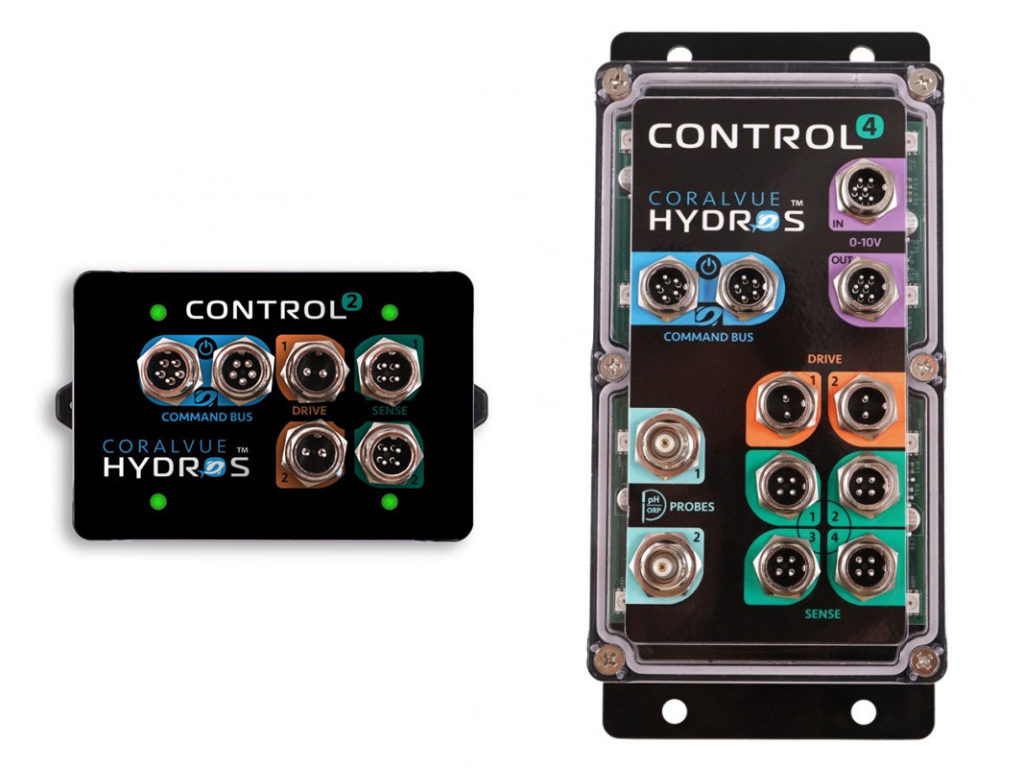 CoralVue introduces a new approach to aquarium controllers with the HYDROS Control 2 and Control 4, as debuted at MACNA 2019.