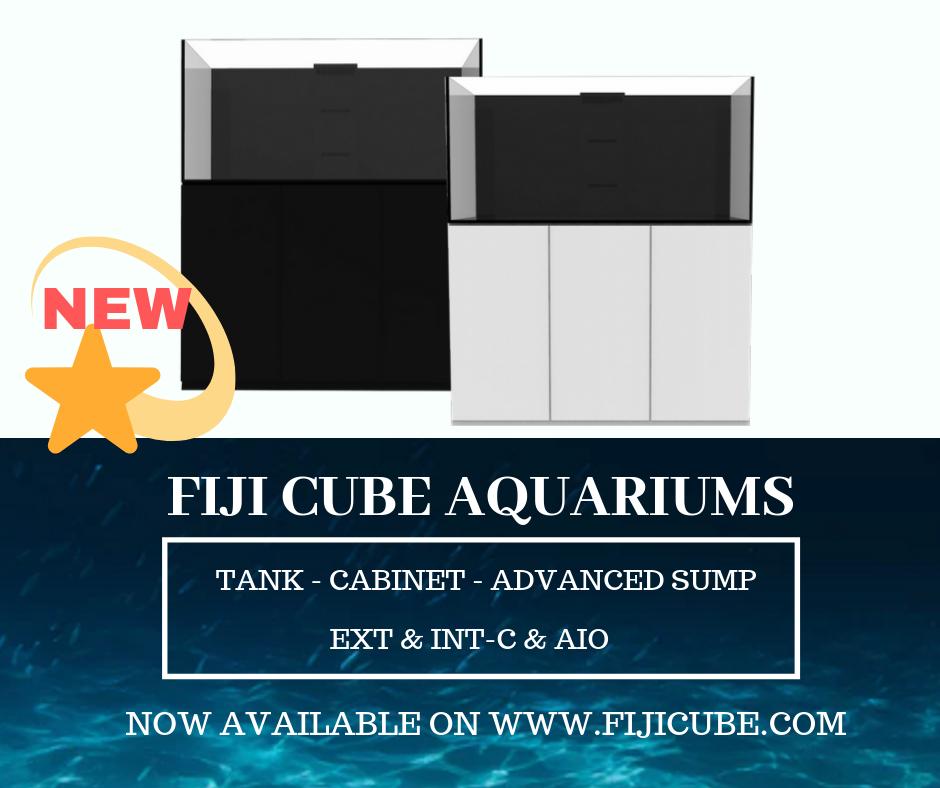 Fiji Cube announces new Complete Series aquarium line.