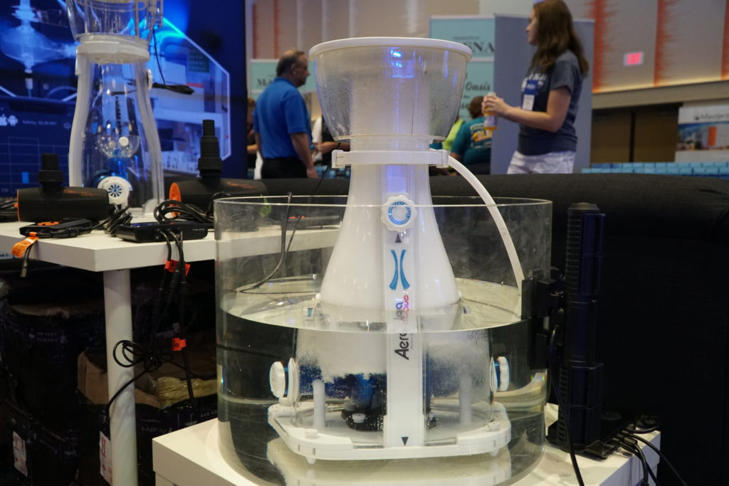 The new Maxspect Aeraqua Duo AD600 Protein Skimmer, on display at MACNA 2019, is now available to consumers.