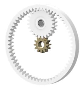 The VX-1's planetary gear drive.