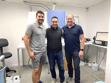 Joseph Caparatta, Ehsan Dashti and Julian Baggio, the people behind bringing TRITON to the US.