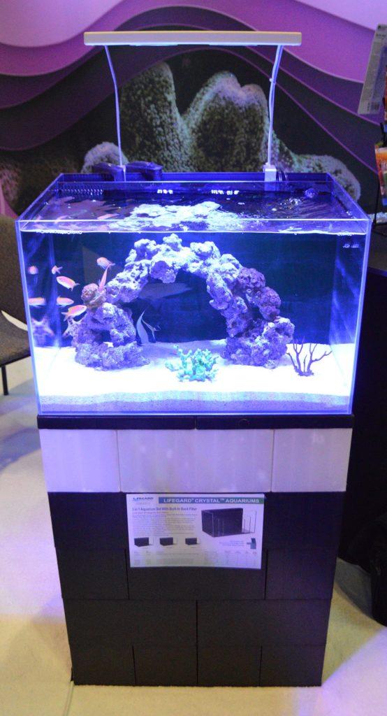 Lifegard's Crystal Aquariums as displayed by Dr. Tim's Aquatics