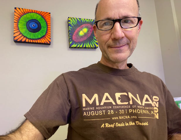 """Got my MACNA 2020 special collectors edition 'the show that never was' t-shirts...Get these while you still can!"" - Julian Sprung, Two Little Fishies Founder, and MASNA Award Winner."