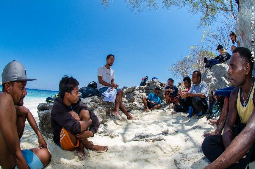 Coral Guardian launches the Blue Center to encourage and support participatory marine conservation and reef restoration projects around the world.