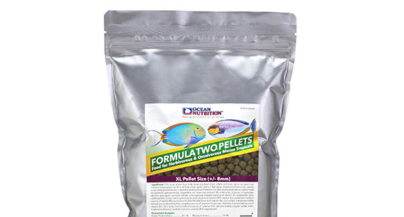 New Extra Large Formula 1 & 2 Pellets from Ocean Nutrition