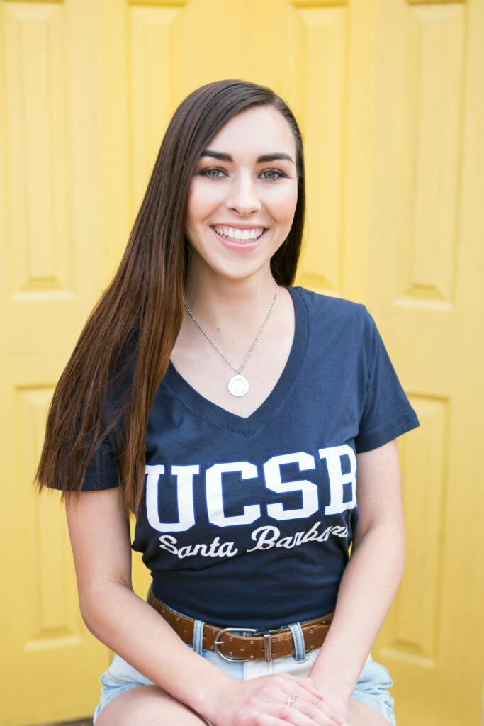 Lauren Jennings, MASNA's 2020 Undergraduate Student Scholarship recipient.