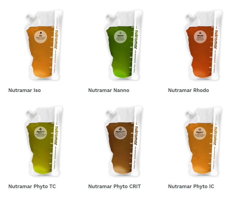 Nutramar Foods expands their offerings with six new live phytoplankton products.