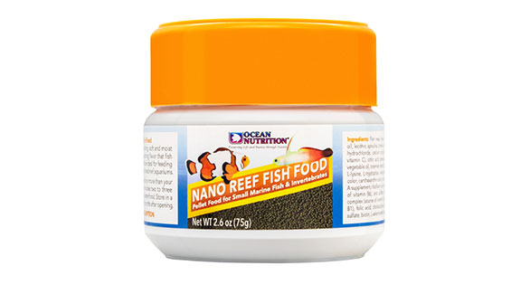 Ocean Nutrition Launches Nano Reef Fish Food
