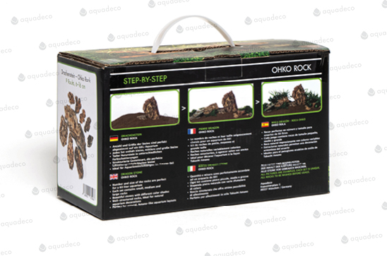 Value-added packaging even includes basic step-by-step aquascaping instructions, further lowering the barrier to entry for first-time aquascapers. Image credit: Aquadeco