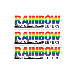 Rainbow Reefers stickers $5.00