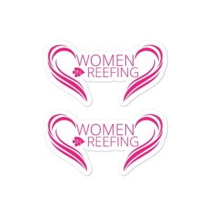 Women in Reefing stickers $5.00