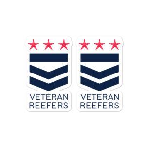 Veteran Reefers stickers $5.00