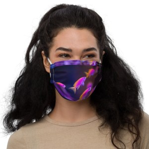 Pseudanthias evansi Face Mask $19.99