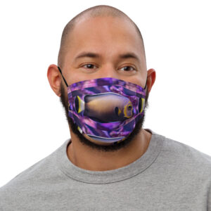 Captive-Bred Conspicuous Angelfish Face Mask $19.99