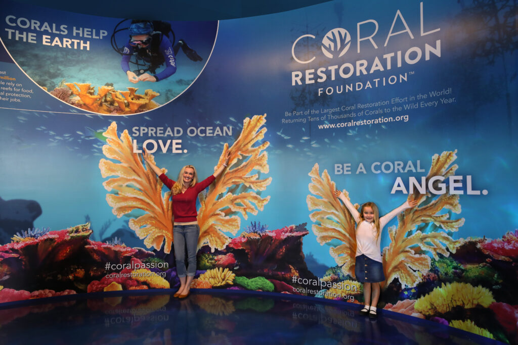 Aquarium at the Boardwalk is committed to preserving ocean life, and has partnered with the Coral Restoration Foundation™.