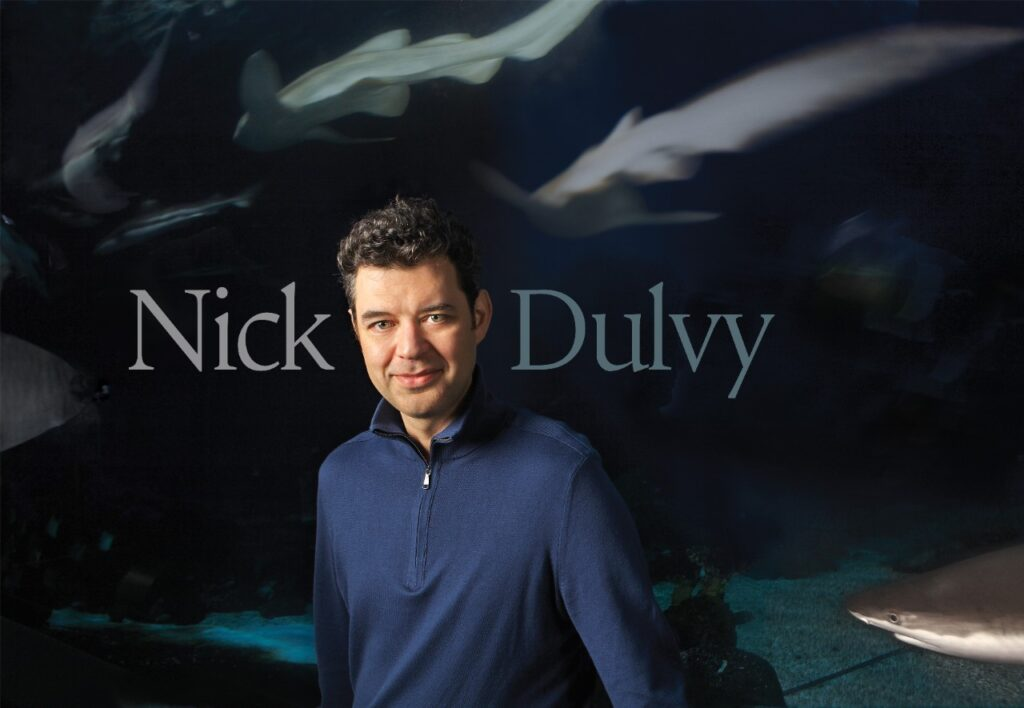 """Prof. Nick Dulvy:  """"It's an incredible rate of decline steeper than most elephant and rhino declines, and those animals are iconic in driving conservation efforts on land."""""""
