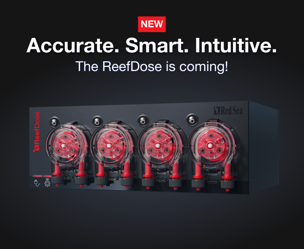 Red Sea Introduces ReefDose Dosing Pumps