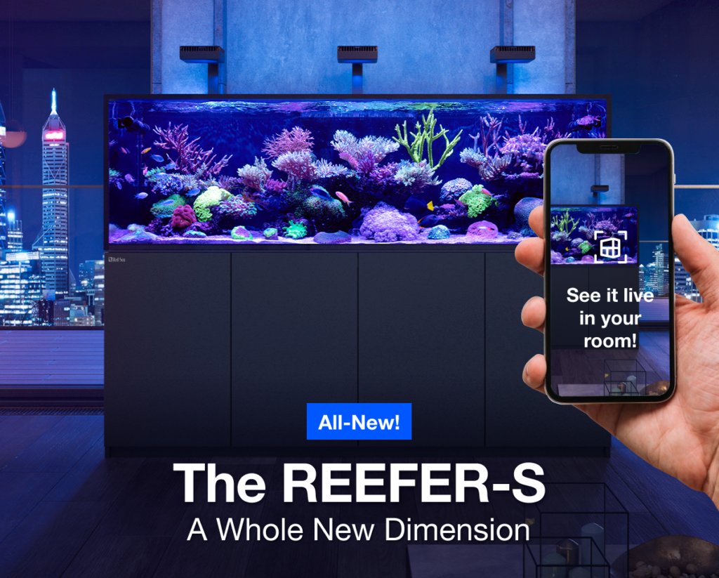 New REEFER-S Aquariums from Red Sea