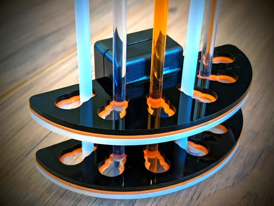 Slide-Loc Creates Dosing Tube Holder