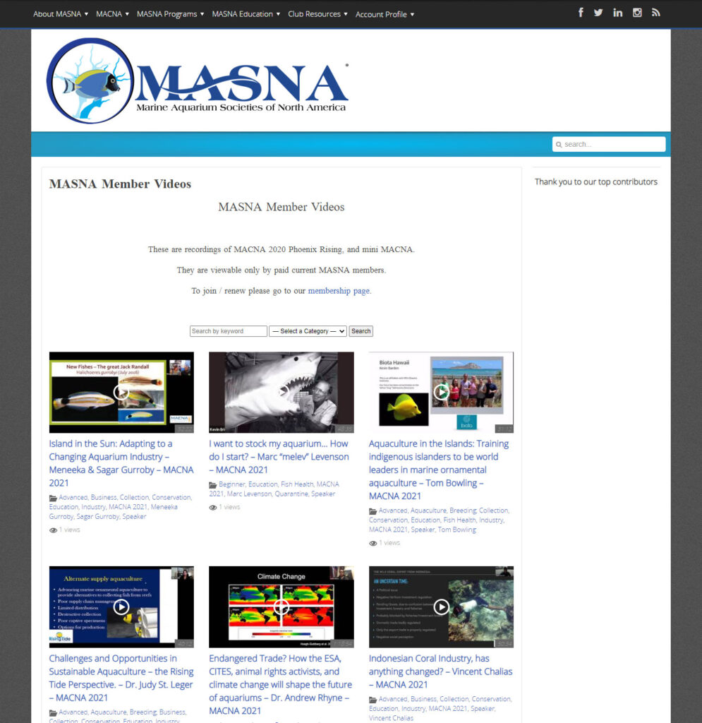Join MASNA to access 31 videos from MACNA 2020, MACNA 2021, and Mini MACNA. Most presentations are exclusively available to active MASNA members.