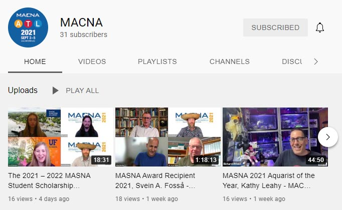 Select new videos from MACNA 2021 are available now to freely watch on the MACNA YouTube Channel (or here, below).