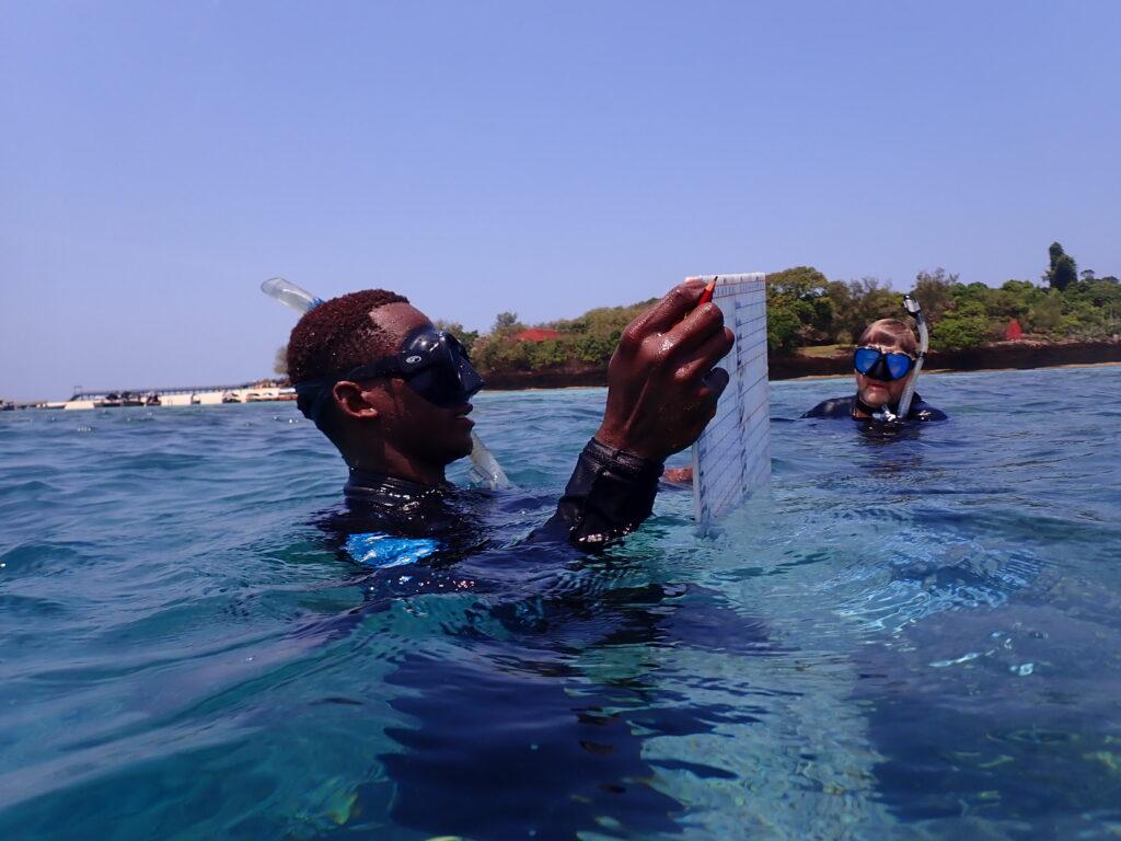 Michael Markovina, previous director of the Marine Program for Wildlife Conservation Society, Tanzania. Credit: Michael Markovina